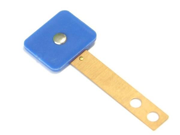 Target blau, rechteckig