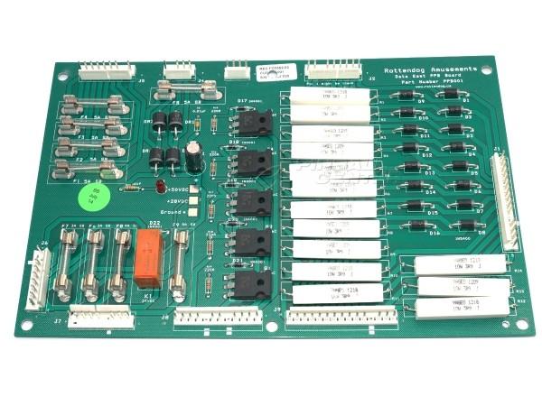 Power Supply Board, Data East (520-5021-00)