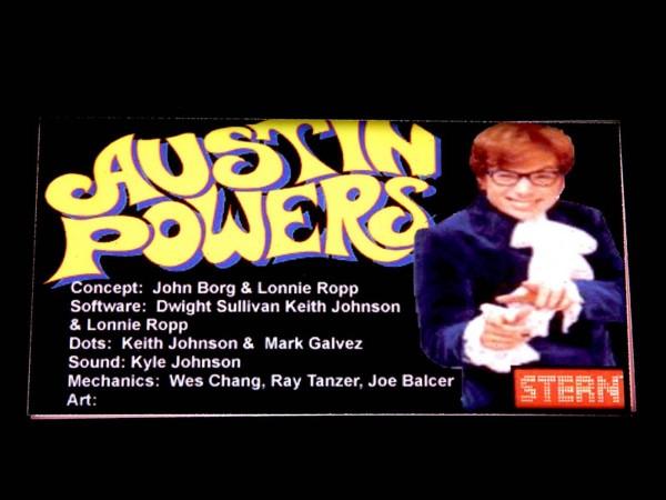 Custom Card for Austin Powers, transparent
