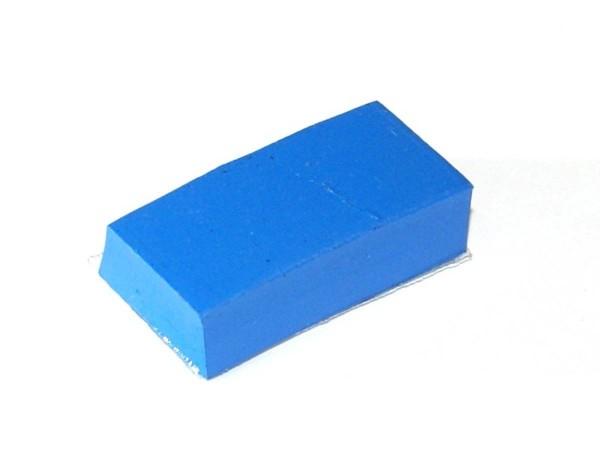 """Bumper Pad blau 1"""" x 1/2"""" x 1/4"""""""