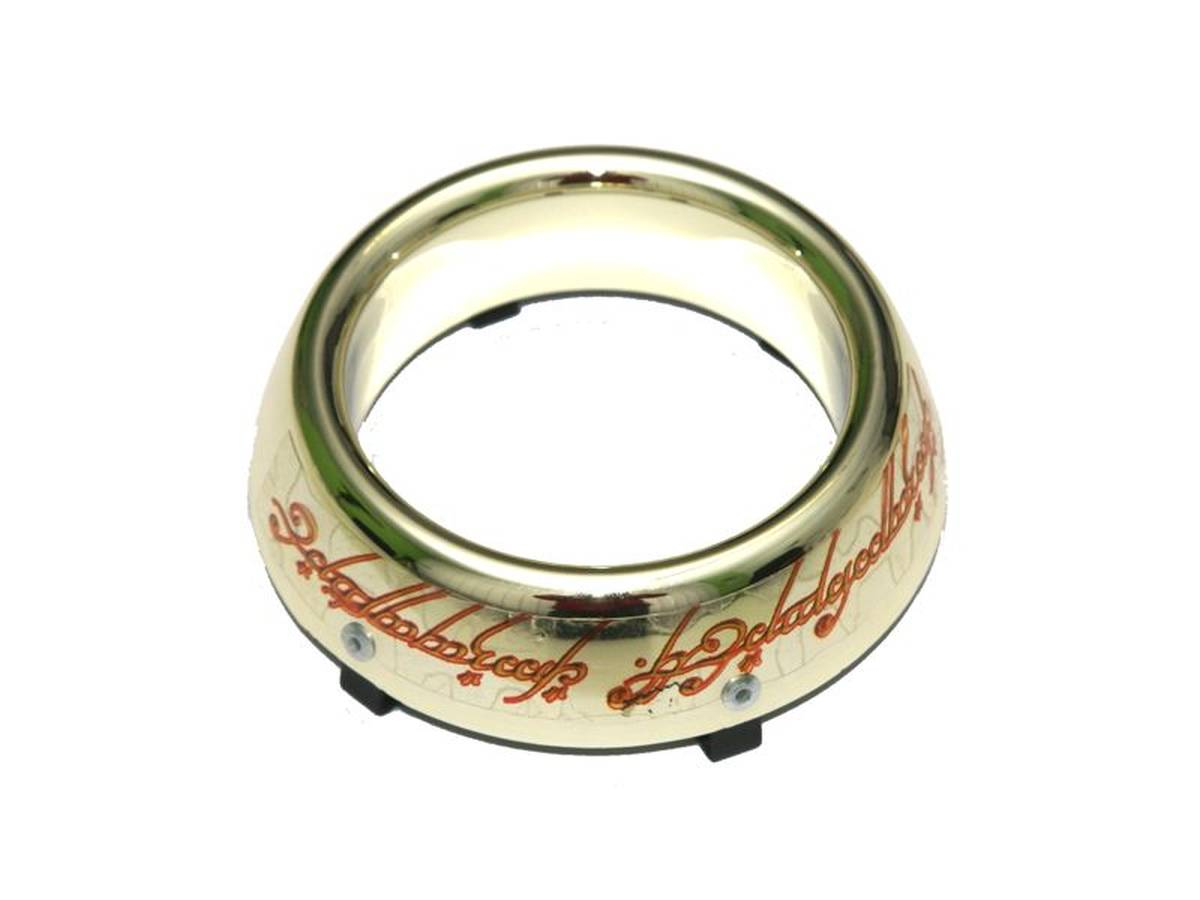 gold ring plastic for the lord of the rings the lord of