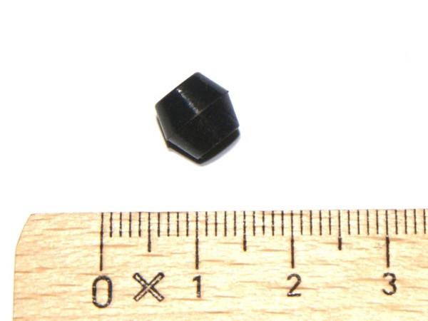 Gummimutter - premium schwarz