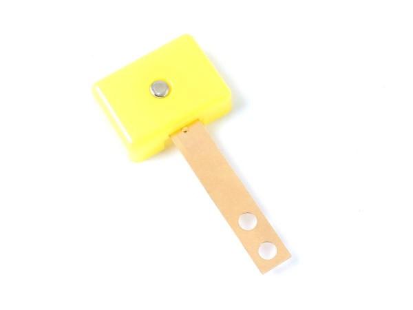Target yellow, 3D rectangular extra wide