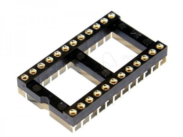 IC Sockel 24 Pin (15,24mm)