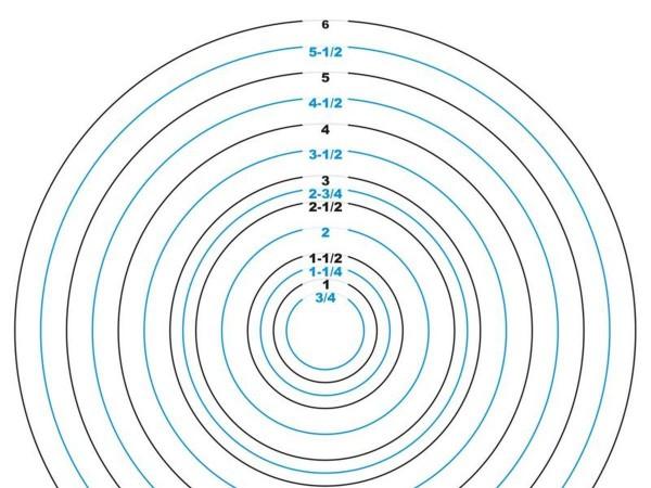 Pinball Rubber Ring Sizes