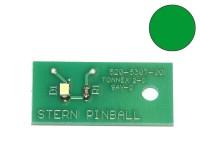 LED Board green, single (Stern 520-5307-00)