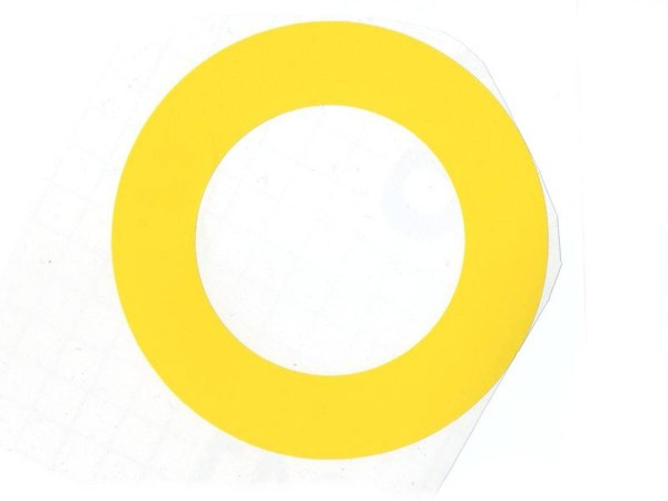 Pop Bumper Protector, yellow