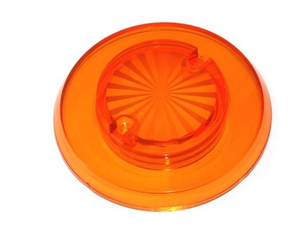 """Pop Bumper cap """"Sun burst"""" - orange transparent"""