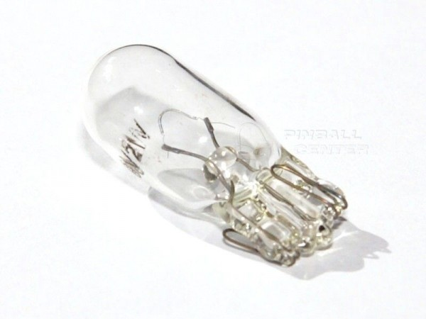 T10 Flipperlampe #555 6V, 2W, 100Stück