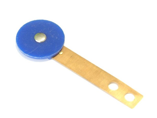 Target blau, rund