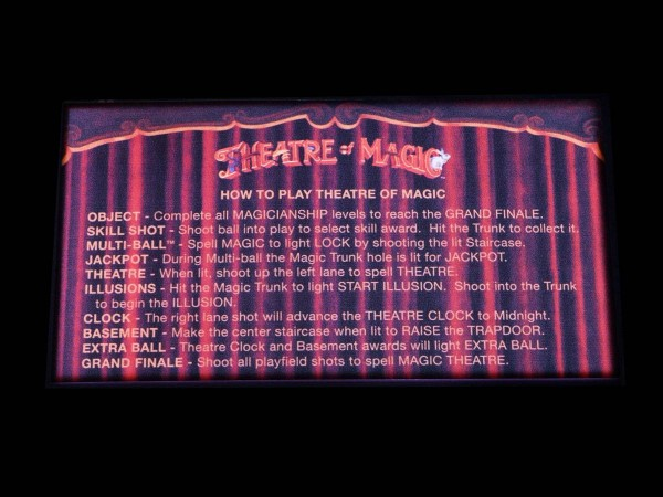 Instruction Card for Theatre of Magic (2), transparent