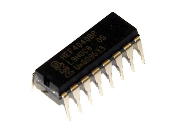 IC 4040, 12-bit ripple counter