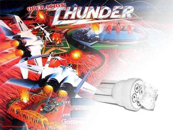 Noflix LED Playfield Kit for Operation Thunder