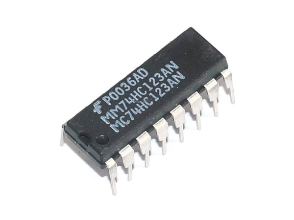 IC 74HC123AN, Monostable Multivibrator