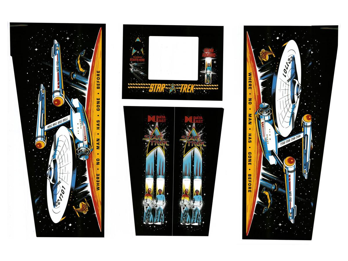 Cabinet Decals | Cabinet Art | Cabinet Parts | Pinball Parts ...