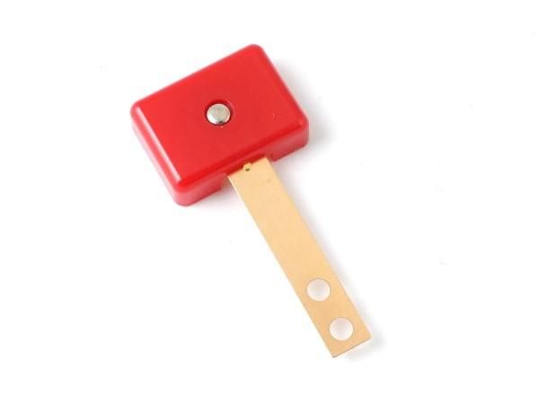 Target red, 3D rectangular extra wide