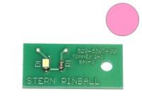 LED Board pink, single (Stern 520-5307-00)