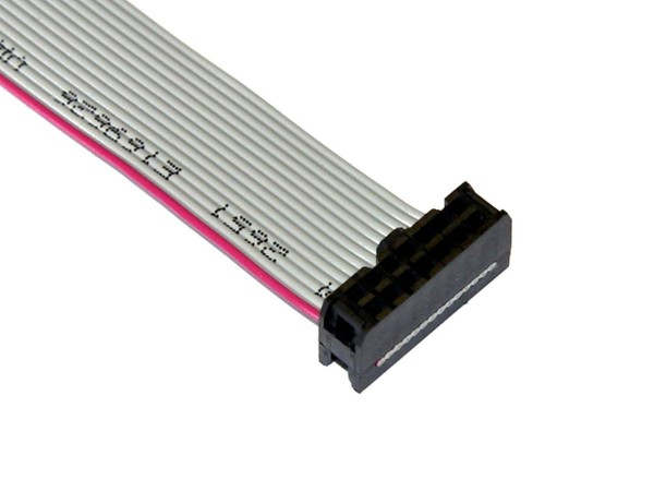 "Ribbon Cable 14pin, 77cm (30""), 2 Connector"