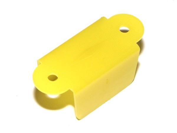 """Durchlauf 1-1/2"""", gelb doppelseitig (A9394Y)"""