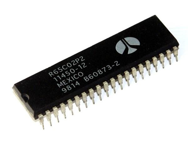 IC R65C02P2, Prozessor