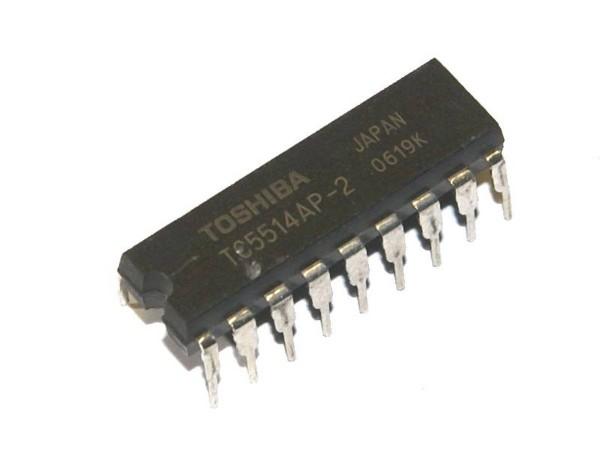 IC TC 5514 AP, 4-Bit SRAM