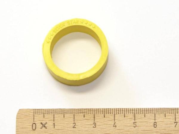 Flipper Gummi - gelb (klein)
