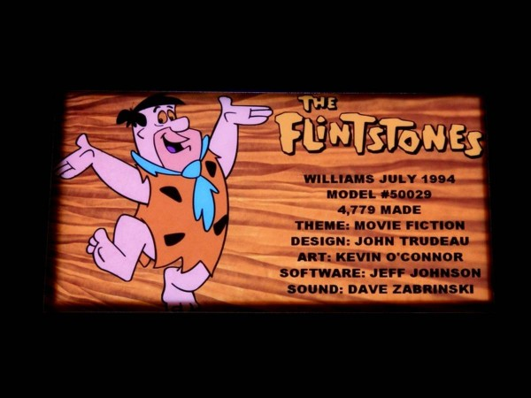 Custom Card for The Flintstones, transparent