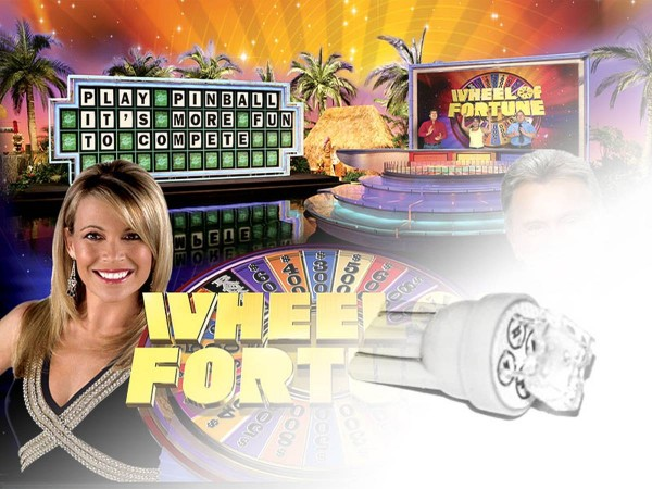 Noflix LED Playfield Kit for Wheel of Fortune