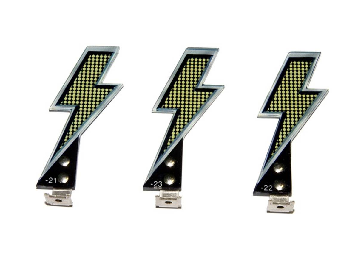 Lightning Bolt Replacement Kit for AC/DC | Special Parts | Playfield ...