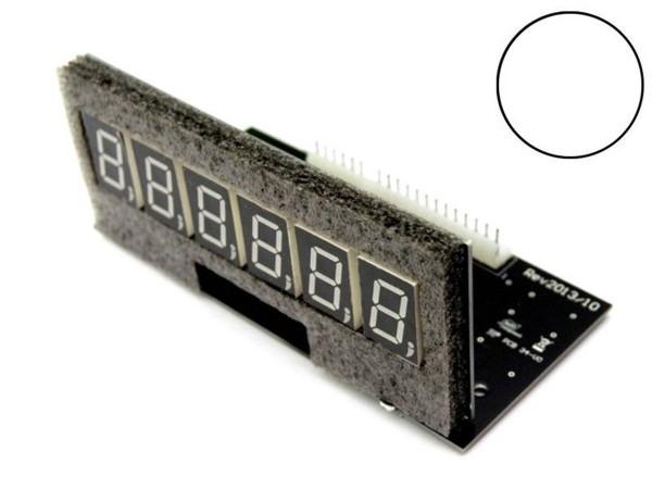Pinballcenter 6-Digit Pinball LED Display for Bally / Stern, white