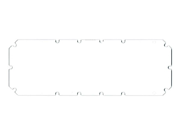 Dot Matrix Display Abdeckung, klar (01-13636)