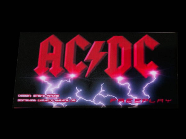 Custom Card for AC/DC, transparent