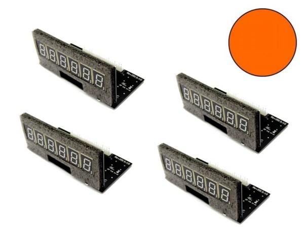 Pinballcenter Flipper Display Set 5, orange