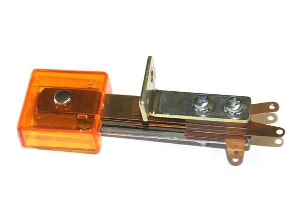 Standup Target 3D orange transparent, rectangular