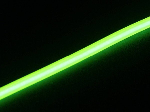 Light Tube lime, 2mm