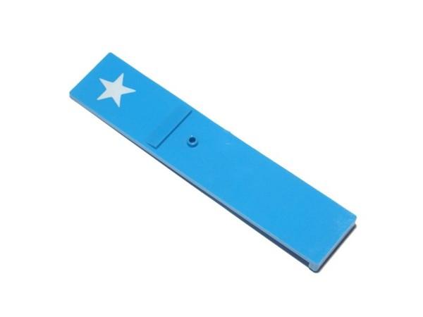 Drop Target blau mit Stern (03-7478)