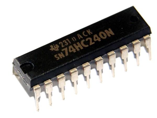 IC SN74HC240 N