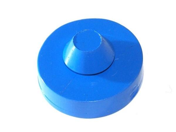 Bumper pad blue round
