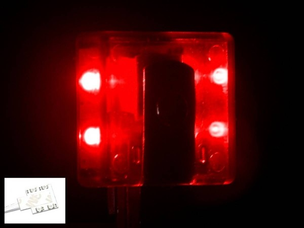 Noflix Target Light, red