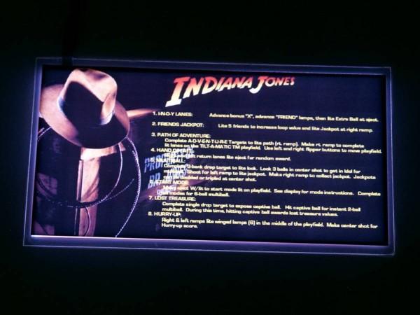 Instruction Card for Indiana Jones, transparent