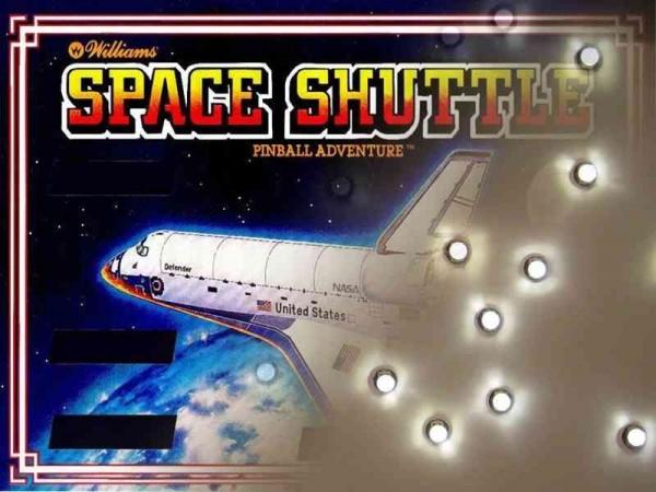 Noflix LED Backbox Kit for Space Shuttle