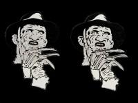 Speaker Inserts for Freddy: a Nightmare on Elm Street, 1 Pair