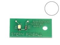 LED Board cold white, single (Stern 520-5307-00)
