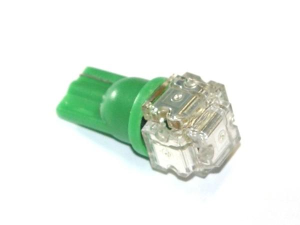 "T10 Noflix Flasher ""Superflux Block"" grün"