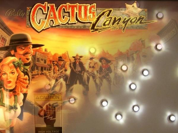 Noflix LED Backbox Set für Cactus Canyon