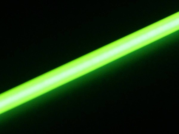 Light Tube lime, 3mm