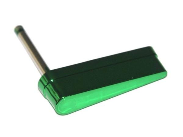 Flipper without Logo, green metallic