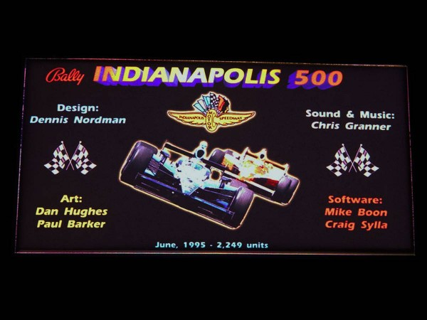 Custom Card for Indianapolis 500, transparent