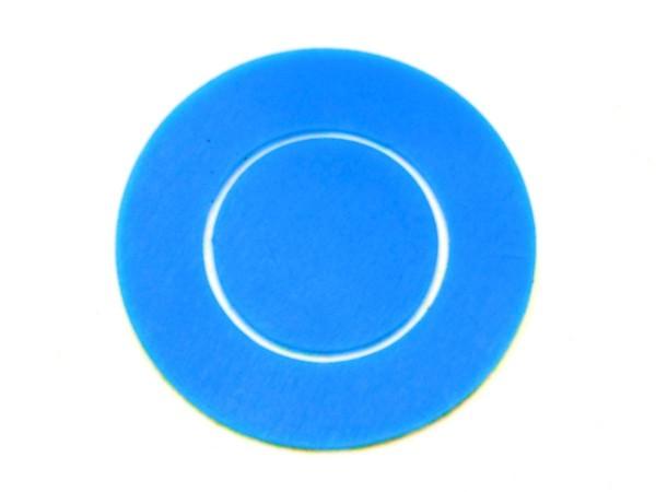 Disk Gummi Set für TRON: Legacy, blau