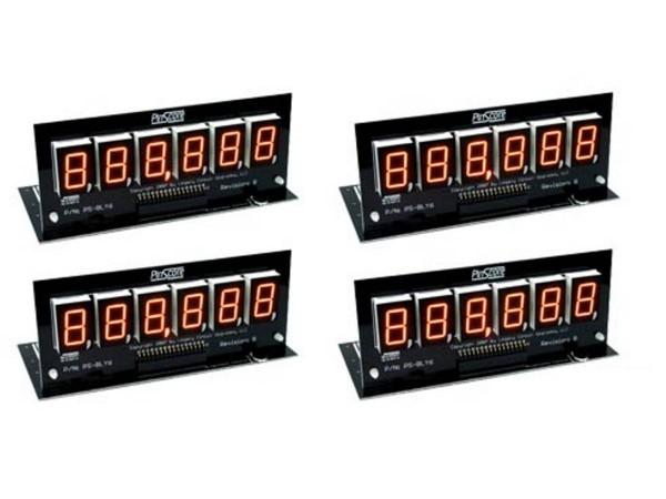 PinScore Pinball Display Set F